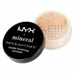 NYX - Mineral Finishing Powder