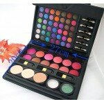 66 Color Eyeshadow Blush Concealer Glitter Powder Brush Palette Set