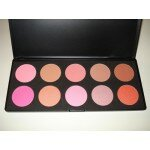 10 Color Blush Palette